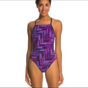 SPEEDO Endurance+ open back one piece